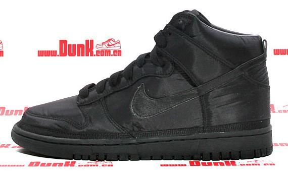new concept b0507 13efb Nike Dunk High Premium - Black - Black - Vandal Inspired