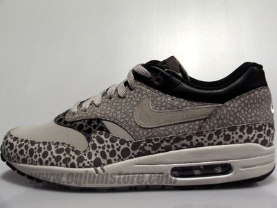 Nike Air Max 1 Premium SP - Gray - White - Safari Print ... 461cfae28