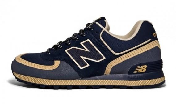 New Balance M574 TKB - Blue - Beige - SneakerNews.com ebc7f2df259b