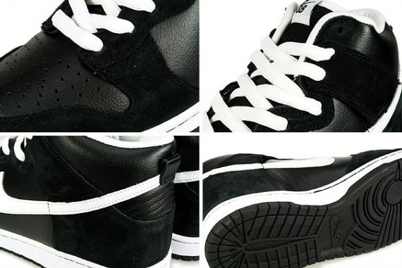 Nike Dunk High Pro SB - Venom - Black