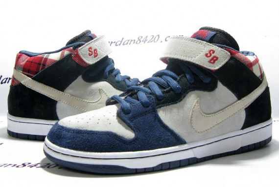 This new Nike SB Dunk Mid is the third pair of Nike SB Dunk's we've seen in  the past couple of days that features a cartoon skateboarder drawn on the  insole ...