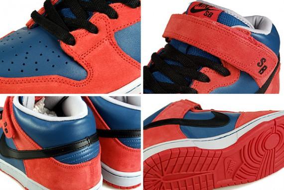 Nike Dunk Mid Pro SB - Spiderman