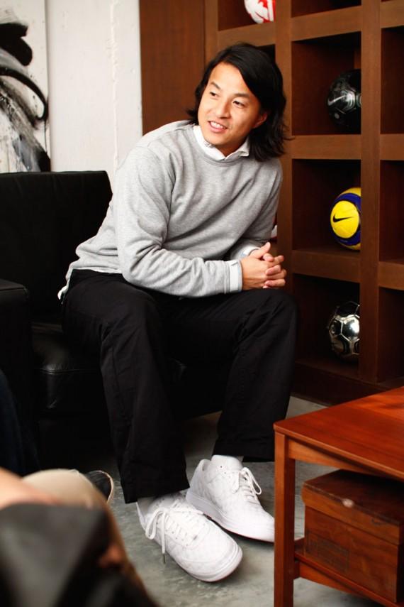 Michael Lau x Nike 1World