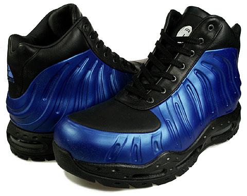 Nike Foamposite Boot - Royal Blue