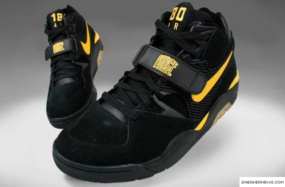 sports shoes d8c8d abb15 Post title  Nike Air Force 180 - Black - Maize - Bumble Bee