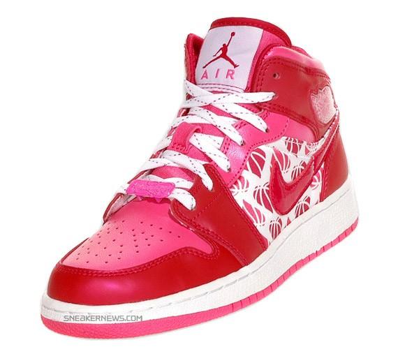 Air Jordan Retro 1 - Kids - Valentine's