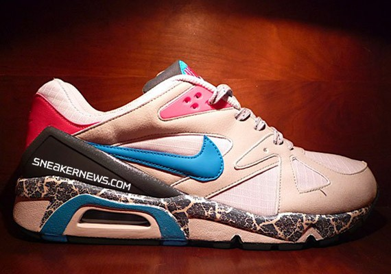Nike Air Structure Triax 91 - Cracked Earth - Grey - Turquoise