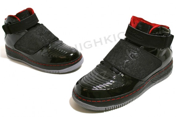 the best attitude 4308a cccf8 Air Jordan Force XX AJF 20 Black Stealth Varsity Red low-cost