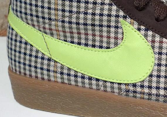 Nike Blazer High - Tweed - Volt