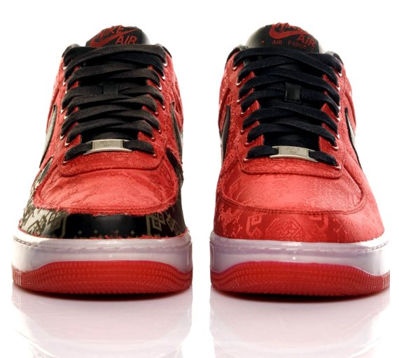 Red Air Force 1 World Clot With