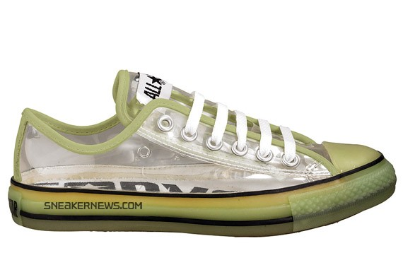 bc52d7e1f0d5 Converse Chuck Taylor All Star Low - Clear - Glow in the Dark ...