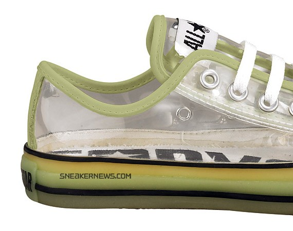 Converse Chuck Taylor All Star Low - Clear - Glow in the Dark