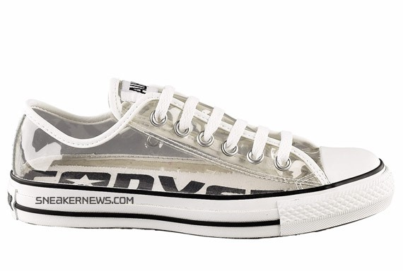 Converse Chuck Taylor High & Low - Clear
