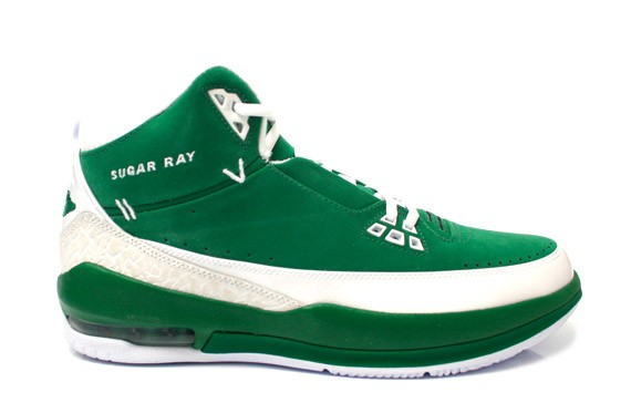 the best attitude 5f85c dcf66 Air Jordan 2.5 - Ray Allen - Sugar Ray PE - Clover - White ...