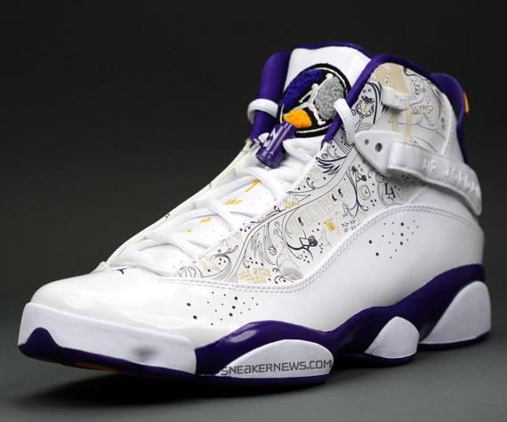 e7c1a765a57c Air Jordan 6 Rings - Championship Pack - LA Lakers - SneakerNews.com