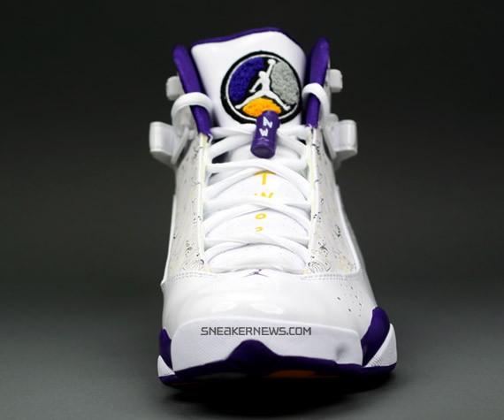 Air Jordan 6 Anelli Edizione Lakers Cmf24x7P2f