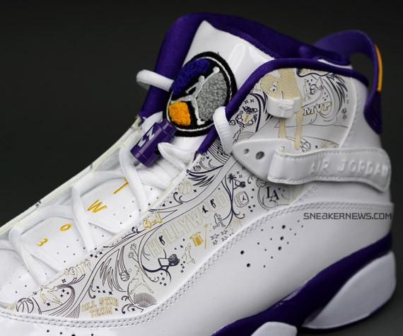 1527f7285e1f on sale Air Jordan 6 Rings Championship Pack LA Lakers - s132716079 ...