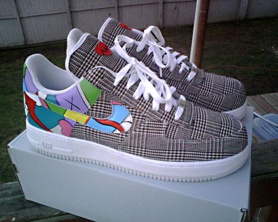 Nike Air Force 1 Custom - Kanye West - 808s & Heartbreak - SneakerNews
