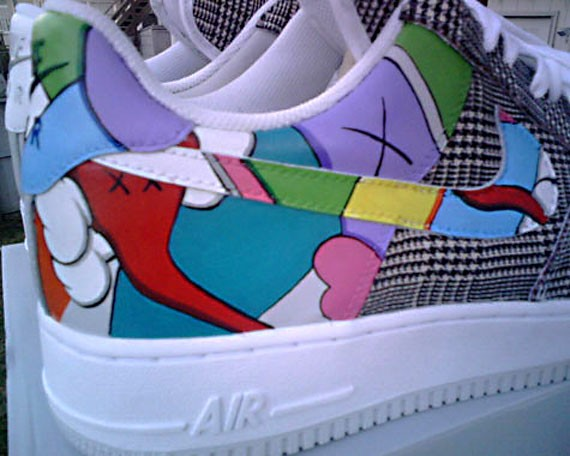 Sneaker News Battle Of The Customs Nike Air Force 1 Sneakernews Com
