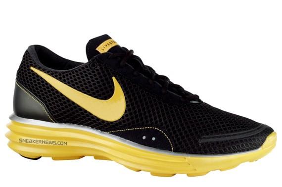 Nike Livestrong Lunar Trainer+ Black Varsity Maize
