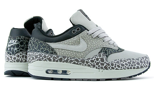 This Nike Air Max 1 Premium SP Safari Print in Gray and White has just been  released at Proper in California and will soon be hitting Nike Sportswear  ...