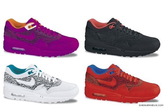Nike Womens Air Max 1 - Safari Pack