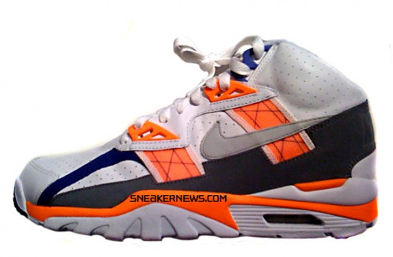 Nike Air Trainer SC High White Total Orange