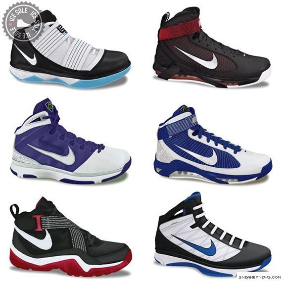 Nike Basketball Fall 09 Preview II Sharkalaid Hypermax Hyperlite amp More