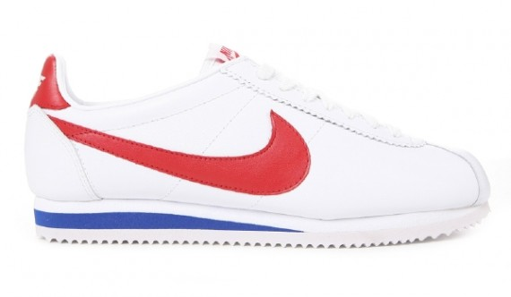 huge selection of 8a5e0 e7b13 Nike Classic Cortez Leather - White - Red - Blue ...