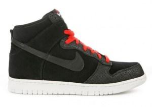 c9a20cf90bc Nike Dunk High Premium - Black - Orage - Safari Print - SneakerNews.com