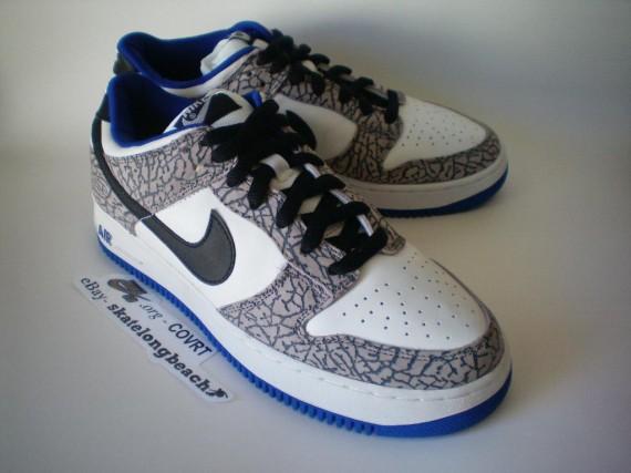 Nike SB Dunk x Air Force 1 - White Supreme - on eBay ...
