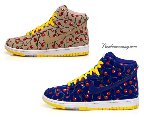 Nike Womens Skinny Dunk x Paule Marrot - Cherries - SneakerNews.com 30e6bedb2c2a