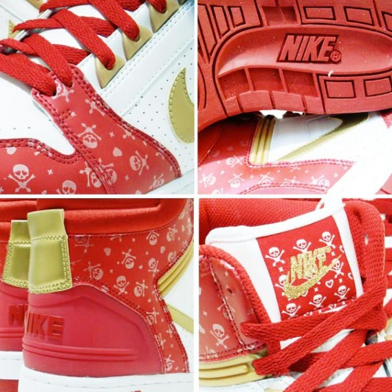 brand new 9889f 26692 Nike WMNS Air Force 2 High - Valentines Day 2009 - SneakerNe