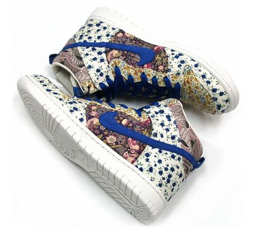 Nike x Milkfed x Liberty - Womens Dunk High Premium - SneakerNews.com ae560d7f550e