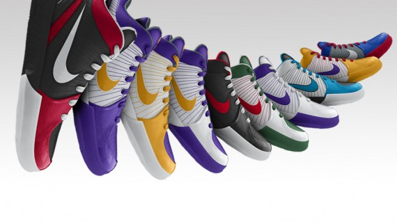 Nike iD Zoom Kobe IV Cut - Christmas
