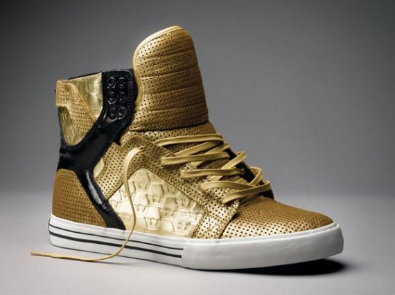 Supra Muska Skytop Gold - Goldie - Chad Muska - SneakerNews.com bf982b2c2485