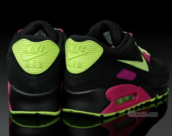 Nike Air Max 90 Pink And Green