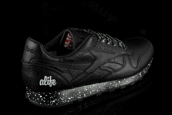 Alife x Reebok Classic Leather Lux Black Black