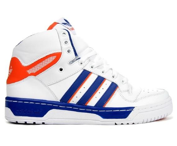 blue and orange adidas