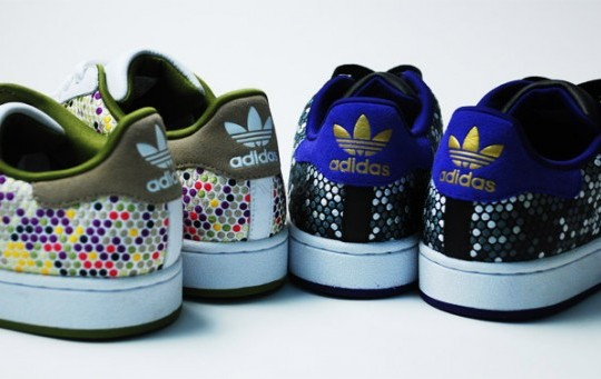 Adidas Originals – 60 Years of Soles and Stripes – Color Vision Superstar