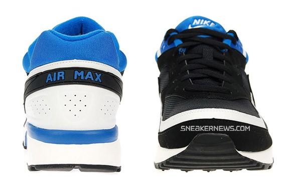 Nike Air Classic BW - Black/White-Blue Sapphire