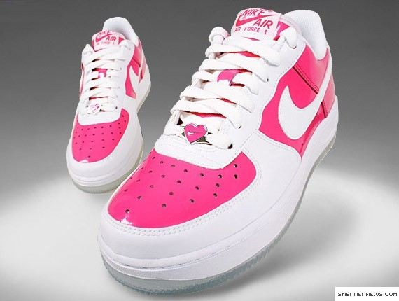 nike air force 1 gs valentines day 2009 sneakernewscom