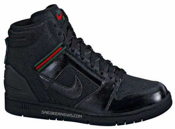 online retailer b2840 c82d9 Nike Air Force II High Premium - Gucci - SneakerNews.com