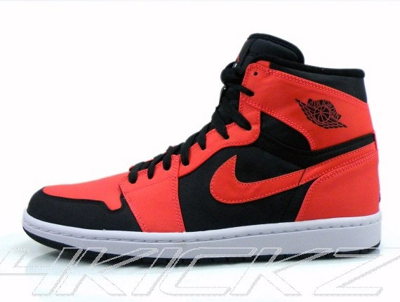 Air Jordan 1 High - Infrared changed to Max Orange - SneakerNews.com 7747496bf5e2