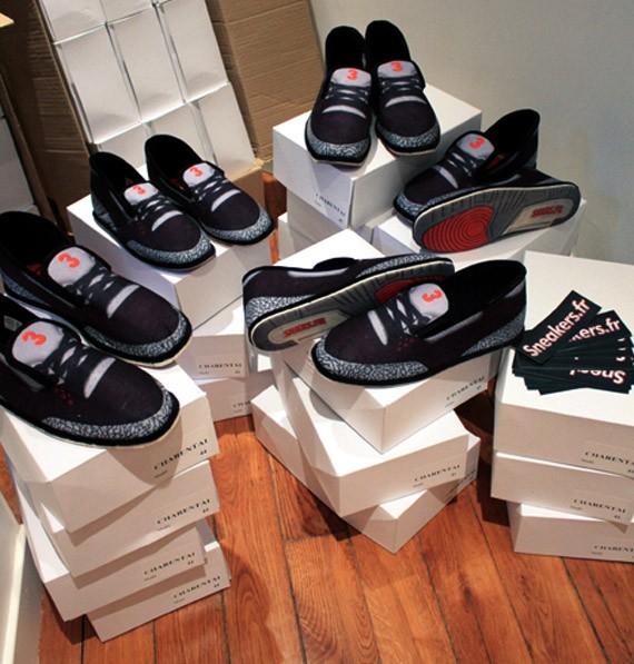 Air Jordan III Inspired Slippers by Sneakers.FR - SneakerNews.com 2b7a64076