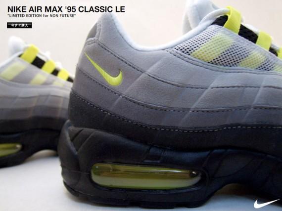 Nike Air Max 95 Classico Giallo Neon x8GTyVO