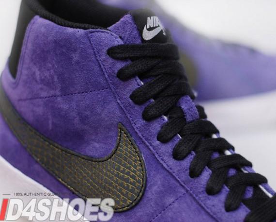 nike sb blazer purple