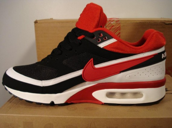 nike air max classic bw red