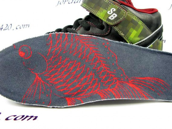 Nike SB Dunk Mid - Gold Fish - Digi Camo