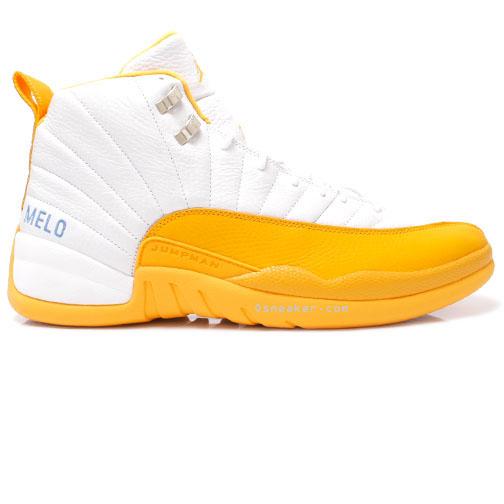 Air Jordan 12 amarillo